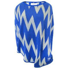 Women's Memphis Tigers Sweater Poncho | Here's a fall and winter piece you will LOVE and reach for again and again. Easy to wear and super stylish, you'll be all the envy of all the gals in Tiger Nation!