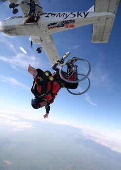 extreme skydiving maneuvers, New Zealand