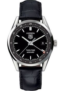 TAG Heuer Carrera Automatic Twin-Time 39mm HEU0104186