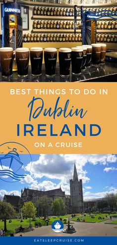 Top Things to Do in Dublin Ireland on a Cruise | More cruises are including stops in Dublin, Ireland and it's easy to be overwhelmed by all of the things to do in this historic city. If your cruise vacation or other travel visits Dublin, you'll want to check out our post. Here where share what to do in Dublin including food, photography and more. Just because cruising is paused for now, doesn't mean you can't dream of your next adventure! #Dublin #Ireland #CruiseVacation #Excursions…