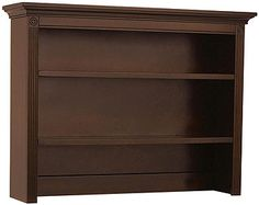 This roomy hutch is ideal for displaying treasures and storing frequently used items. The Montana Hutch is a great addition to the nursery and can be used from infancy well into their teen and adult years.<br><br>The Baby Cache Montana Hutch - Brown Sugar Features:<br><ul><li>Designed to fit on top of the Montana Double Dresser (Montana Double Dresser sold separately)</li><br><li>Open shelves offer the perfect combination of display and sto...