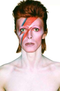 David Bowie as Aladdin Sane