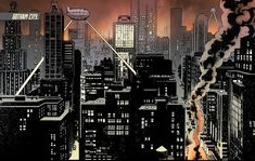 Gotham City is the home of Batman. Batman's place of residence was first identified as Gotham...