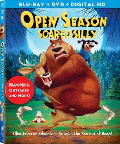 Open Season Scared Silly. (sponsored giveaway)