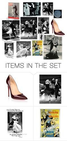 """ginger rogers"" by annbrauer ❤ liked on Polyvore featuring art and artflashmob3"