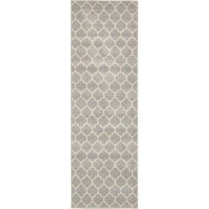 "Charlton Home Moore Gray Area Rug Rug Size: Runner 2'7"" x 8'"