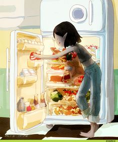 Marceline,Марселин - Королева Вампиров, Марселин,adventure time,время приключений,фэндомы,at art,flafly,artist