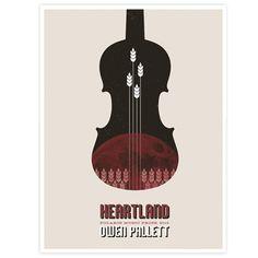 Owen Pallett 2010 Polaris Music Prize Large Poster