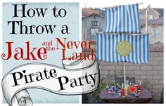 Set Sail with Jake and The Never Land Pirates for a Treasure Trove of Party Ideas