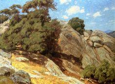 California Landscape - William Wendt - The Athenaeum
