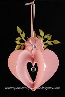 Paper Compulsions: Heart ornament