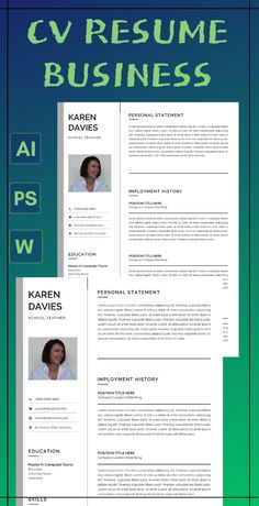 Teacher Resume template instant download Word with Teacher Resume and Cover Letter Template Modern Resume Template Word Resume Design 2 Page Executive Resume with photo. #Teach resume #teacher resume template #teacher resume template instant download #art teacher resume #teaching resume #education resume template #Cv resum business Teaching Resume Examples, Sales Resume Examples, Resume Objective Examples, Hr Resume, Nursing Resume, Resume Help, Resume Action Words, Resume Words, Modern Resume