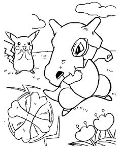 Pokemon coloring page 08