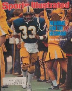 Tony Dorsett autographed Sports Illustrated Magazine PITTSBURGH >>> Check this awesome product by going to the link at the image. (Note:Amazon affiliate link)