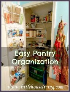 Pantry Organization Ideas (Organize Your Pantry The Easy Way!) by raquel