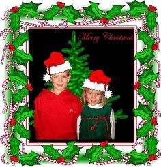 Grandbabies Merry Xmas