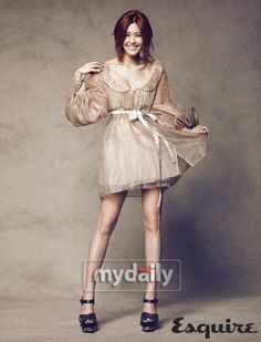 Lee Yoon Ji. She probably one of my favorite K-Drama actresses! She's soo pretty and seems really sweet. Love her!