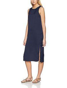 40 (Manufacturer size: Large), Blue (Navy Blazer), Vero Moda Women's Vmsatini Sl