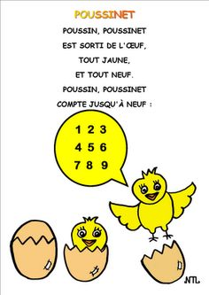 La petite école dans la prairie : la maternelle de Naternelle TPS PS MS Songs For Teachers, French Poems, French Nursery, French Education, Kids Poems, Preschool Music, French Classroom, Math Numbers, Teaching French