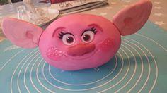 Poppy Trolls Kopf Torte 3D Cake