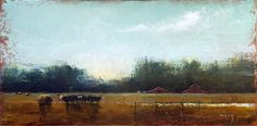 Evening Feeding by Dave Ivey Oil ~ 12 x 24