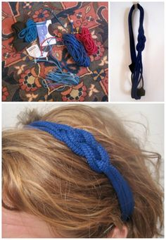 DIY Nautical Headband