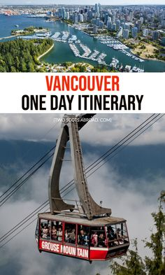 Jam-packed one day in Vancouver itinerary covering the must-see activities and hidden local gems from morning 'til night. Alternative options too. Vancouver Things To Do, Visit Vancouver, Vancouver Travel, Downtown Vancouver, Vancouver Food, Vancouver Chinatown, Vancouver Vacation, Vancouver Skyline, Vancouver Restaurants