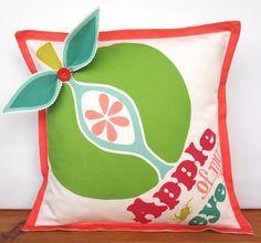 Apple of My Eye 3D cushion. £40.00