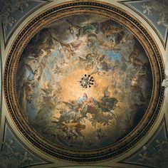 Francisco Bayeu. Regina Prophetarum. 1781. Fresco. Basílica de Nuestra Señora del Pilar, Zaragoza. Valeria Espinosa.