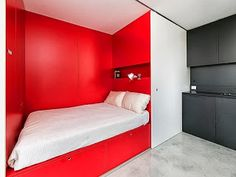 small compact bedroom/apartment
