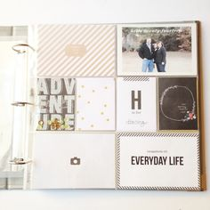 Project Life 2014 Title Page by Annette H at @studio_calico