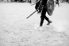 Medieval sword fights, Mont Royal by Cybertiesto, via Flickr