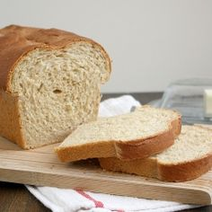 My new favorite sandwich bread!  Made with 60% whole wheat but still great texture and flavor.
