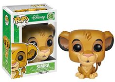 The King of Pride Rock from Disney's The Lion King is now a vinyl figure! The Lion King Simba Pop! Vinyl Figure measures about 3 3/4-Inch tall. A fun recreation of the title character in the movie The Lion King, this figure makes a great collectible for Disney fans!.