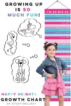 What a cute spin on the growth chart. My kids would LOVE this - especially learning the fun facts as we mark their heights. Kids Fun, Cool Kids, Baby Kids, Beginning Of School, February 2016, Family First, Playrooms, Good Parenting, April Fools
