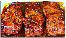This honey garlic glazed salmon recipe is the easiest most delicious way you could ever cook salmon. The salmon is glazed in a delicious honey garlic sauce that is so flavorful and delicious. Honey Baked Salmon, Honey Glazed Salmon Recipe, Garlic Salmon, Baked Salmon Recipes, Seafood Recipes, Cooking Recipes, Salmon With Honey, Vegetarian Recipes, Dinner Recipes