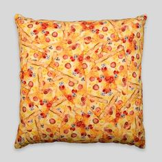 The Pizza Party Pillow By David Choe. NEW in-store and online. #ShopUP #UpperPlayground #PizzaParty #DavidChoe