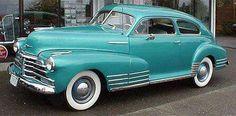 1948 Cheverolet Fleetline Aero Coupe