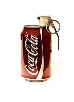 Coke Gernade