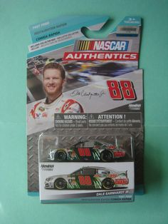 1/64 DALE EARNHARDT JR #88 DIET MTN DEW NASCAR AUTHENTICS