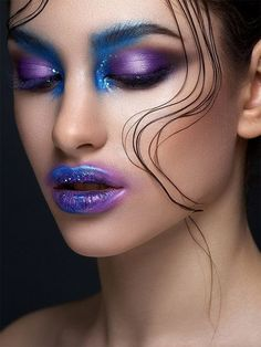 Make Up - Creative Beauty Photography by Alex Malikov Makeup Inspo, Makeup Art, Makeup Inspiration, Eye Makeup, Design Inspiration, Fairy Makeup, Airbrush Makeup, Makeup Brushes, Beauty Dish