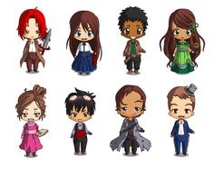 The cast from Reconstruction by K.R. Kampion.