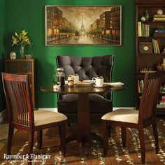 Give yourself a bit of Irish luck by decorating your home with green. Whether it's a bright, bold shade or a lighter hue, we love the color green! Do you?