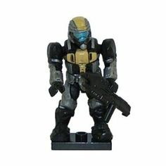 Halo Wars Mega Bloks LOOSE Mini Figure Yellow Silver UNSC ODST with Assault Rifle (Series 4) by Mega Bloks. $10.50. Rare. From Series 4. Each Mega Blocks minifigure features an impressive amount of articulation. The soldier has 12 points of articulation!Does not come with weapons.