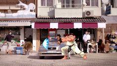 Publicidad y Propaganda 2008: Street Fighter para anunciar un seguro de coches