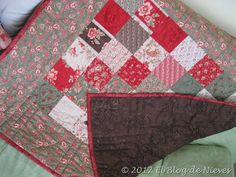 Grace Quilt. handquilted Patchwork Quilting