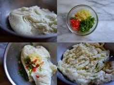 Saltfish Cakes - Alica's Pepperpot Salt Fish Cakes Recipe, Salt Cod Recipe, Cod Recipes, Fish Recipes, Indian Food Recipes, Jamaican Sweet Potato Pudding, Breadfruit Recipes, Cod Fish Cakes, Guyanese Recipes