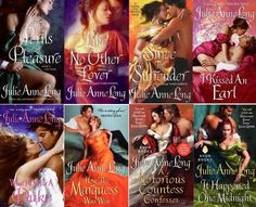 Pennyroyal Green series by Julie Anne Long http://paranormalromancereads.com