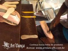 Fabricação de Sapatilha - Art´ Dança