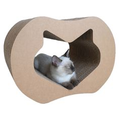 Adorable kittypod for your cat to lounge and play.